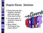 chapter eleven imitation