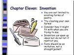 chapter eleven invention