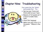 chapter nine troubleshooting61