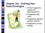 chapter six crafting your poem strategies