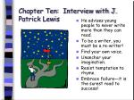 chapter ten interview with j patrick lewis68