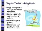 chapter twelve going public80