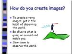 how do you create images