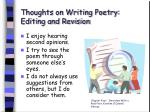 thoughts on writing poetry editing and revision38