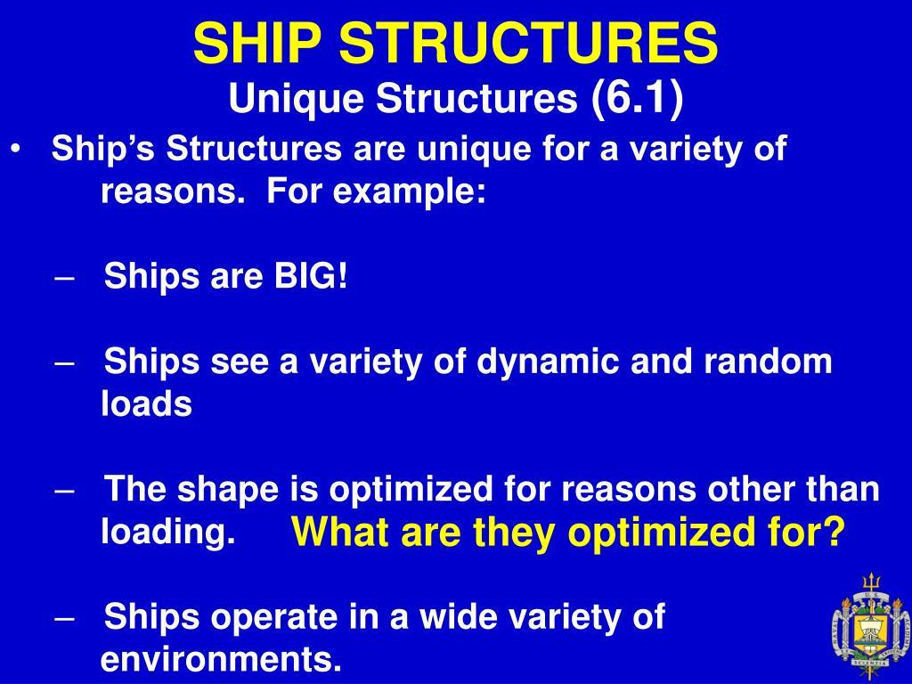 ship structures l.