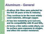 aluminum general