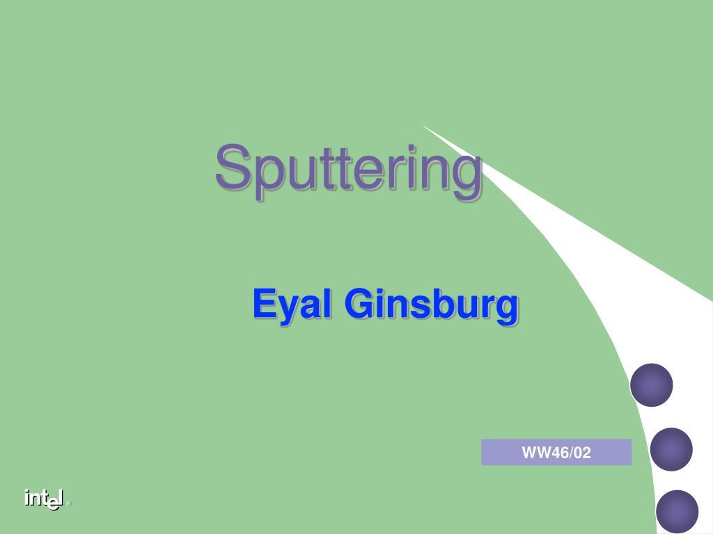 sputtering l.