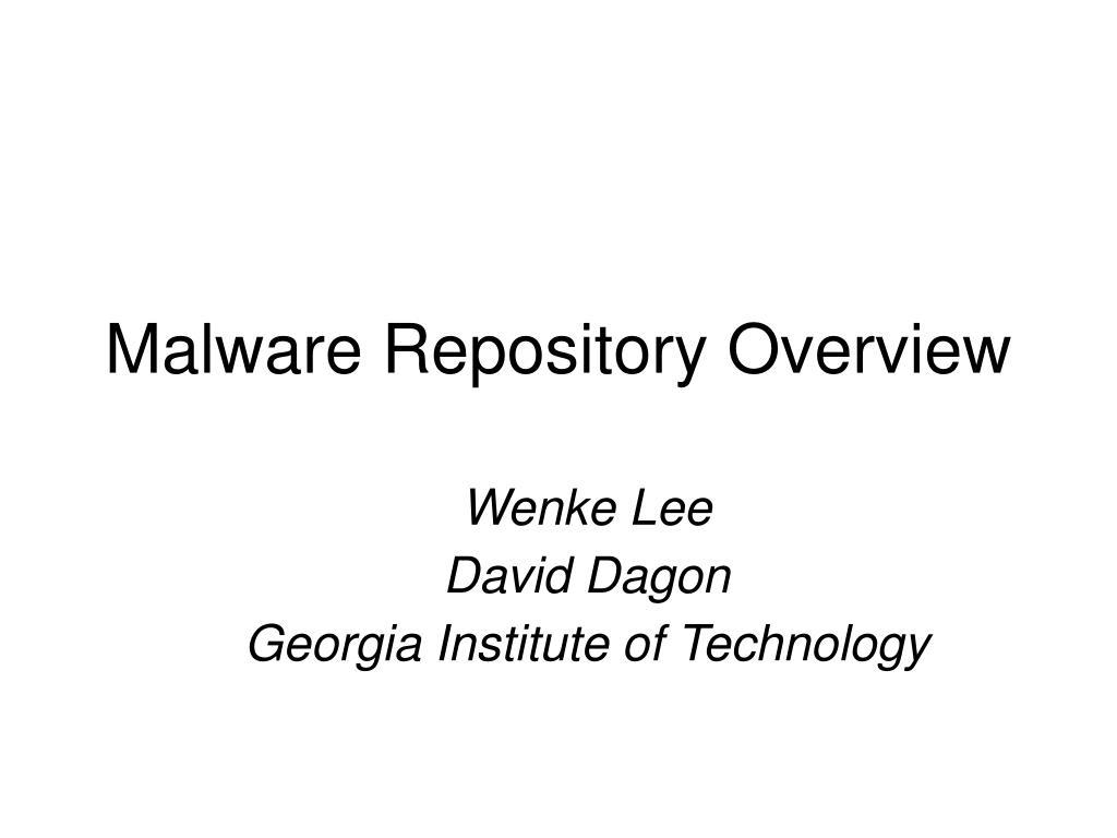 wenke lee david dagon georgia institute of technology l.
