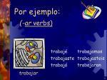 ar verbs9