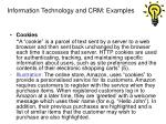 information technology and crm examples12