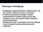technique prototyping