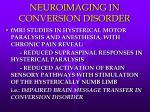 neuroimaging in conversion disorder