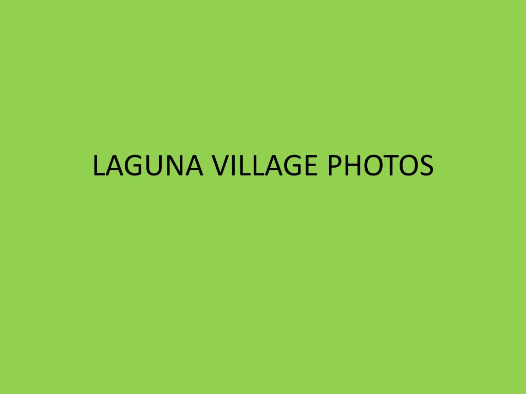 laguna village photos l.