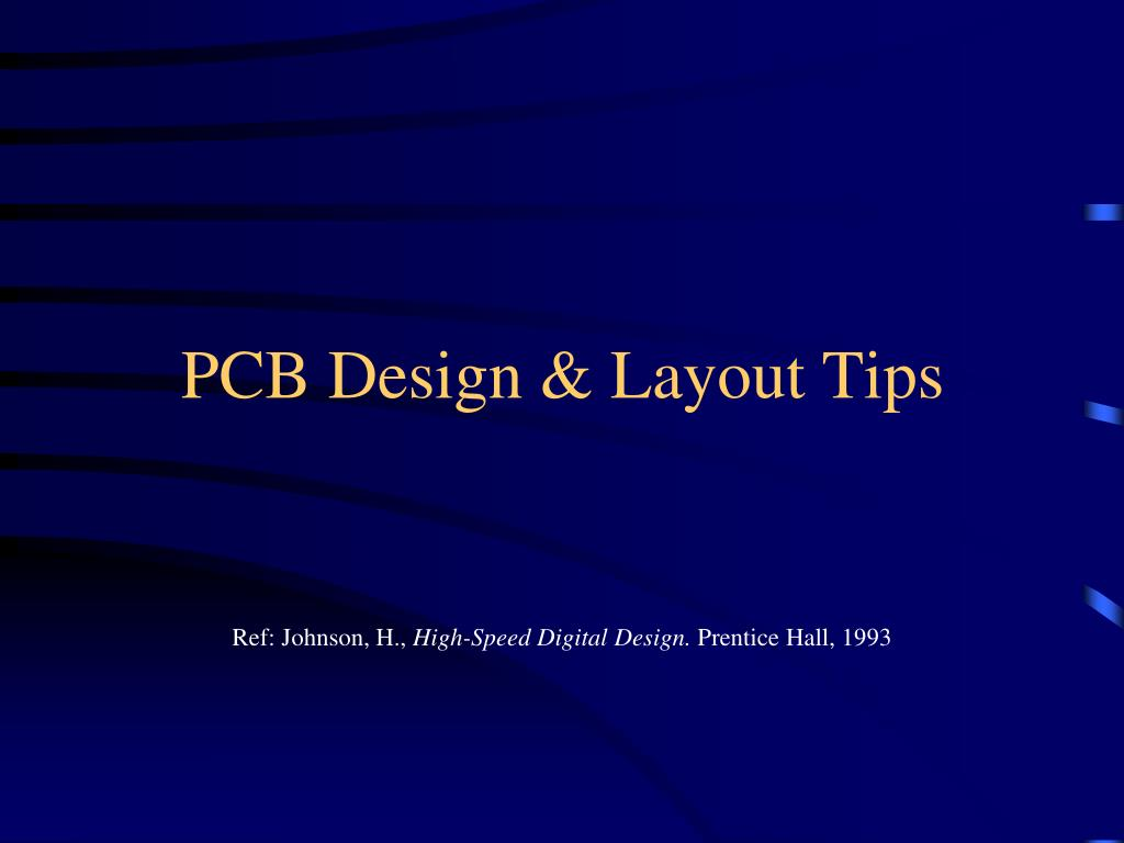 pcb design layout tips l.