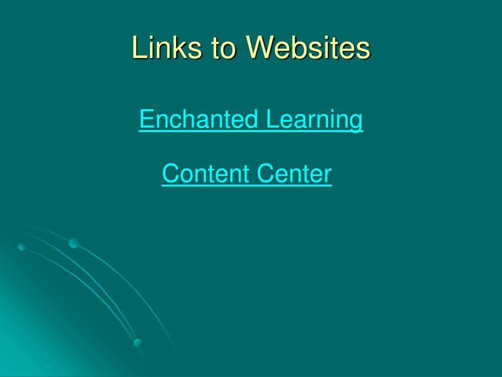 Links to Websites