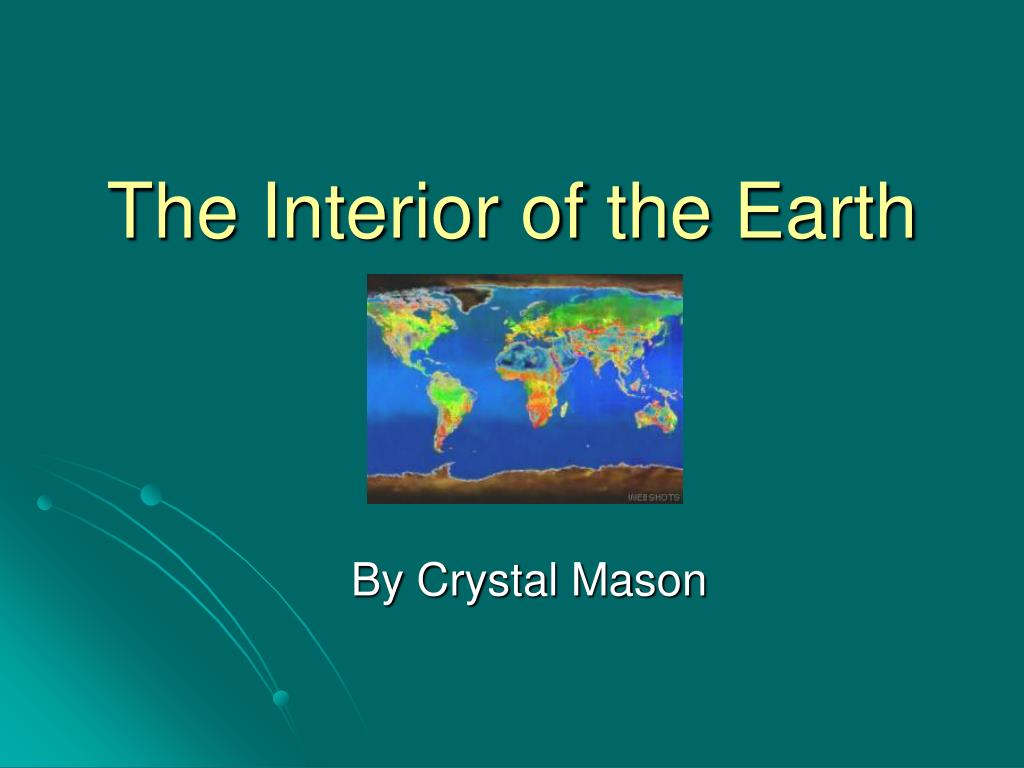 the interior of the earth l.