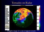 tornados on radar