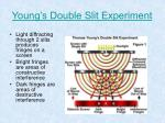 young s double slit experiment