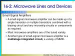 16 2 microwave lines and devices30