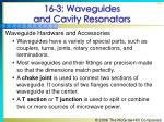 16 3 waveguides and cavity resonators49