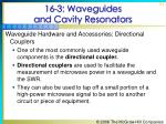 16 3 waveguides and cavity resonators51