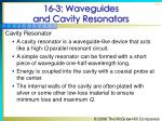 16 3 waveguides and cavity resonators53