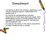 enmeshment