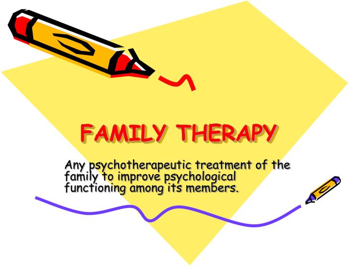 family therapy n.