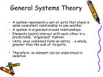 general systems theory12