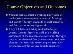 course objectives and outcomes12