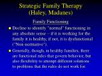 strategic family therapy haley madanes68