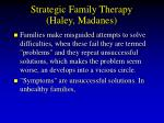 strategic family therapy haley madanes69