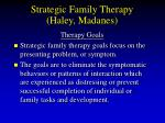 strategic family therapy haley madanes70