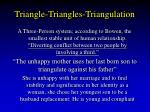 triangle triangles triangulation