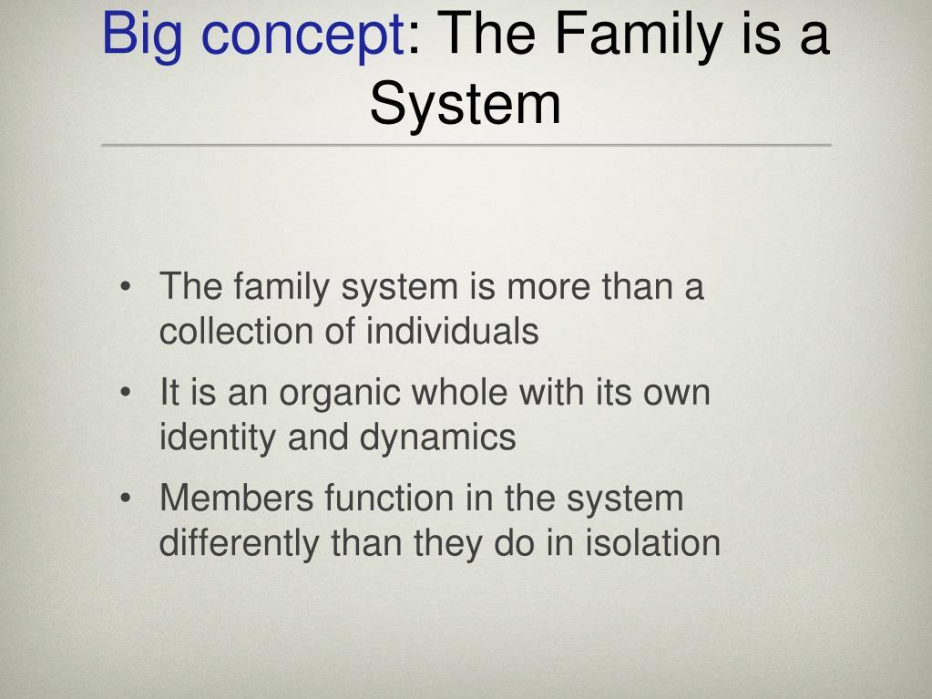 Big concept