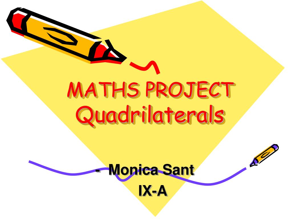 maths project quadrilaterals l.