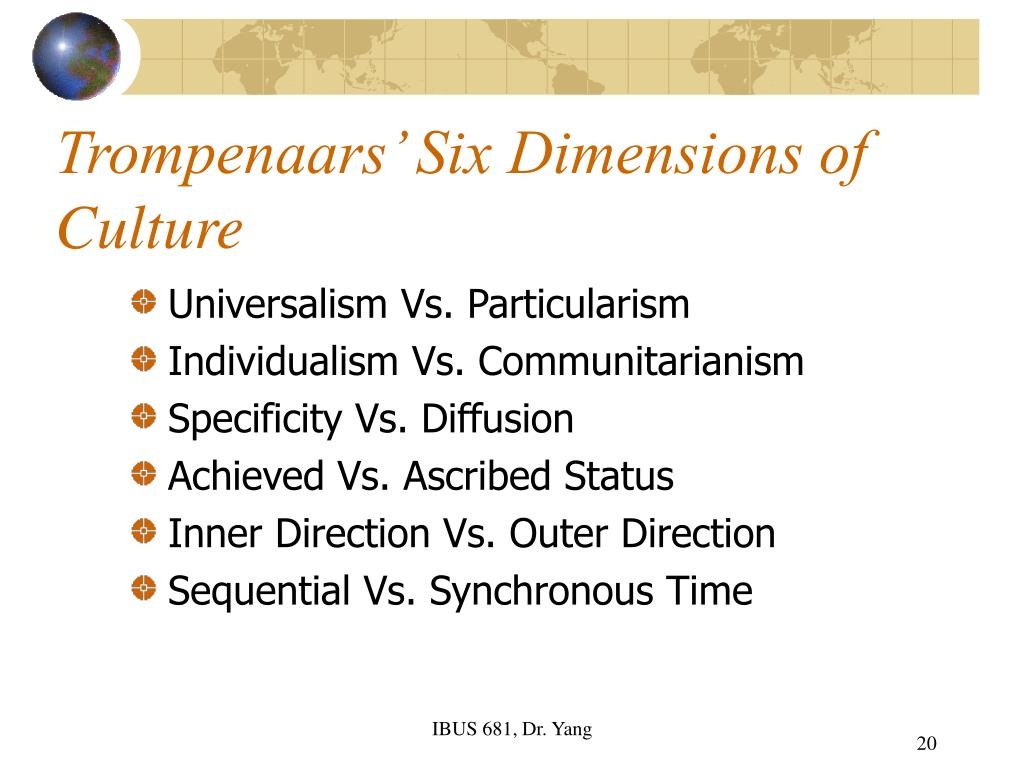 culture dimensions We discuss the topic of hofstede dimensions by exploring the six cultural  dimensions of hofstede framework to better understandr cultures.