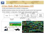 a case study high performance gis41