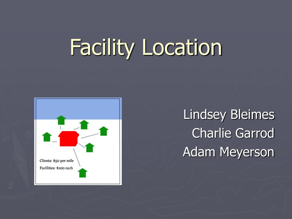 facility location l.