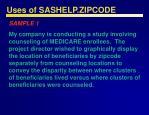 uses of sashelp zipcode24
