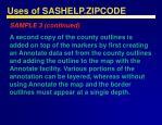 uses of sashelp zipcode46