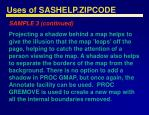 uses of sashelp zipcode48