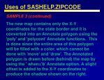 uses of sashelp zipcode49