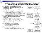 threading model refinement