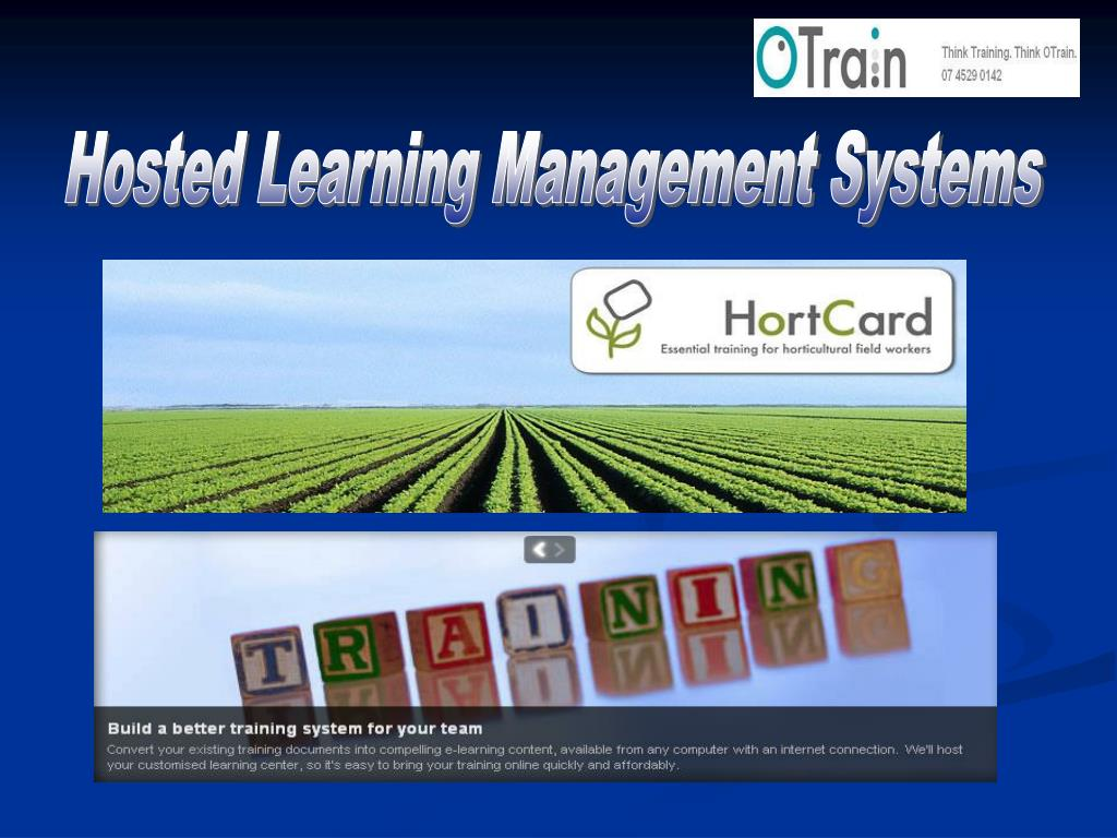 Hosted Learning Management Systems