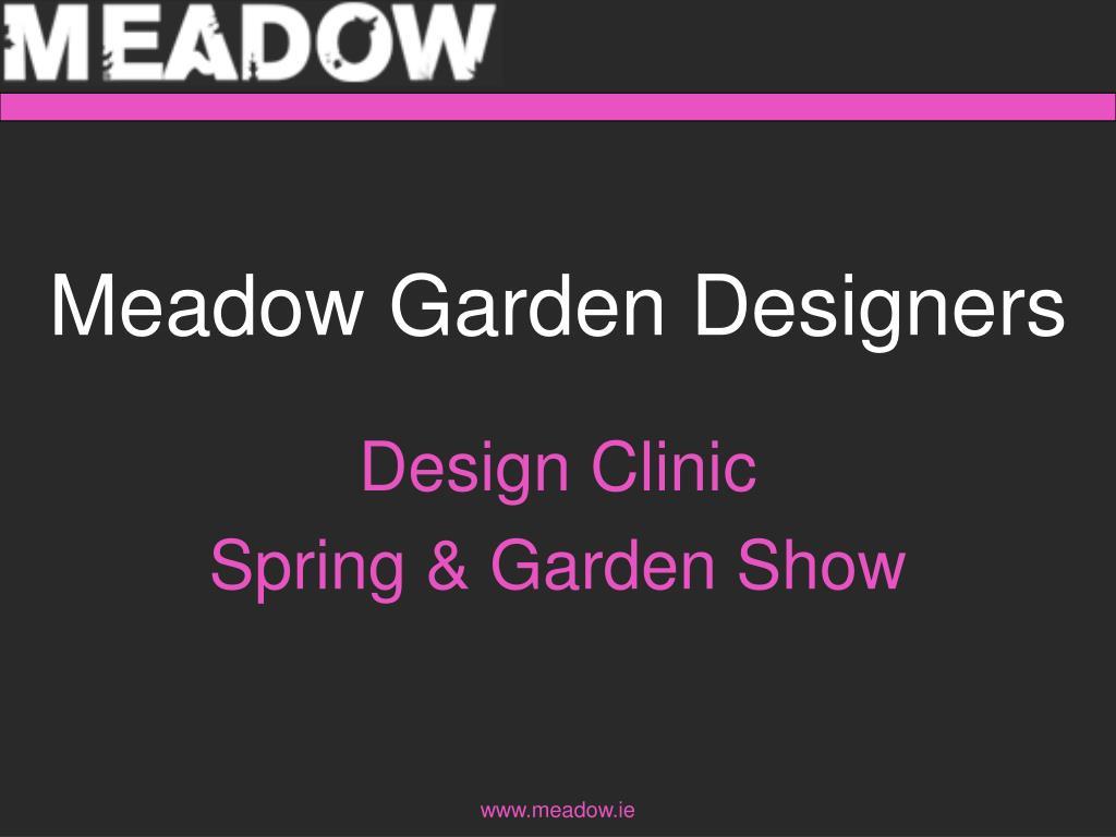 meadow garden designers l.