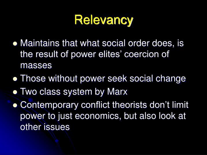 marx conflict theory summary