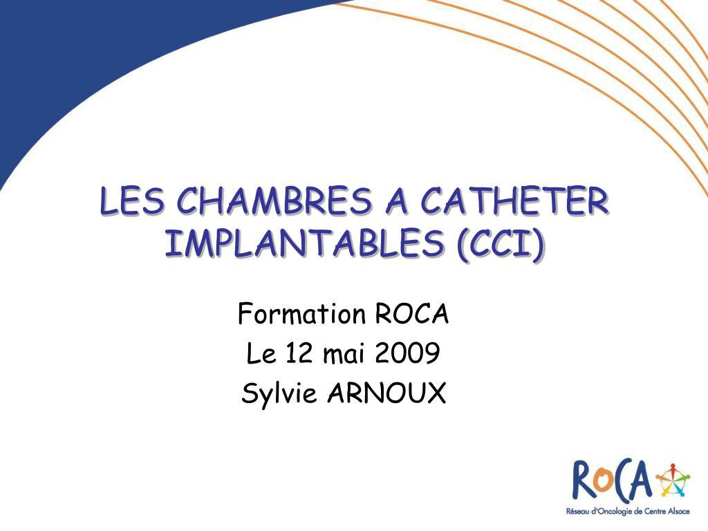 les chambres a catheter implantables cci l.