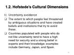 1 2 hofstede s cultural dimensions26