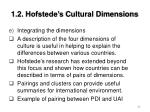 1 2 hofstede s cultural dimensions29